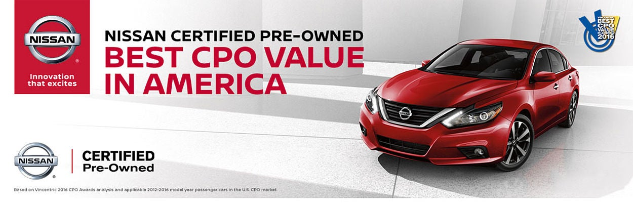 Nissan Certified Pre Owned Program